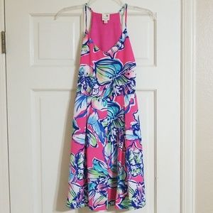 Bright floral Spring dress